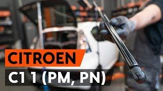 Cómo cambiar los muelle neumático maletero en CITROEN C1 (PM, PN) [VÍDEO TUTORIAL DE AUTODOC]