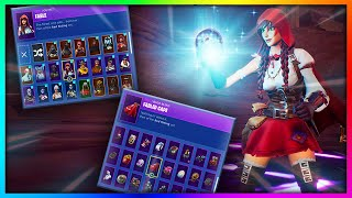 "Before You Grind ""FABLE"" - All Skin and Back Bling's Combinations in Fortnite (SEASON 6 REWARD)"