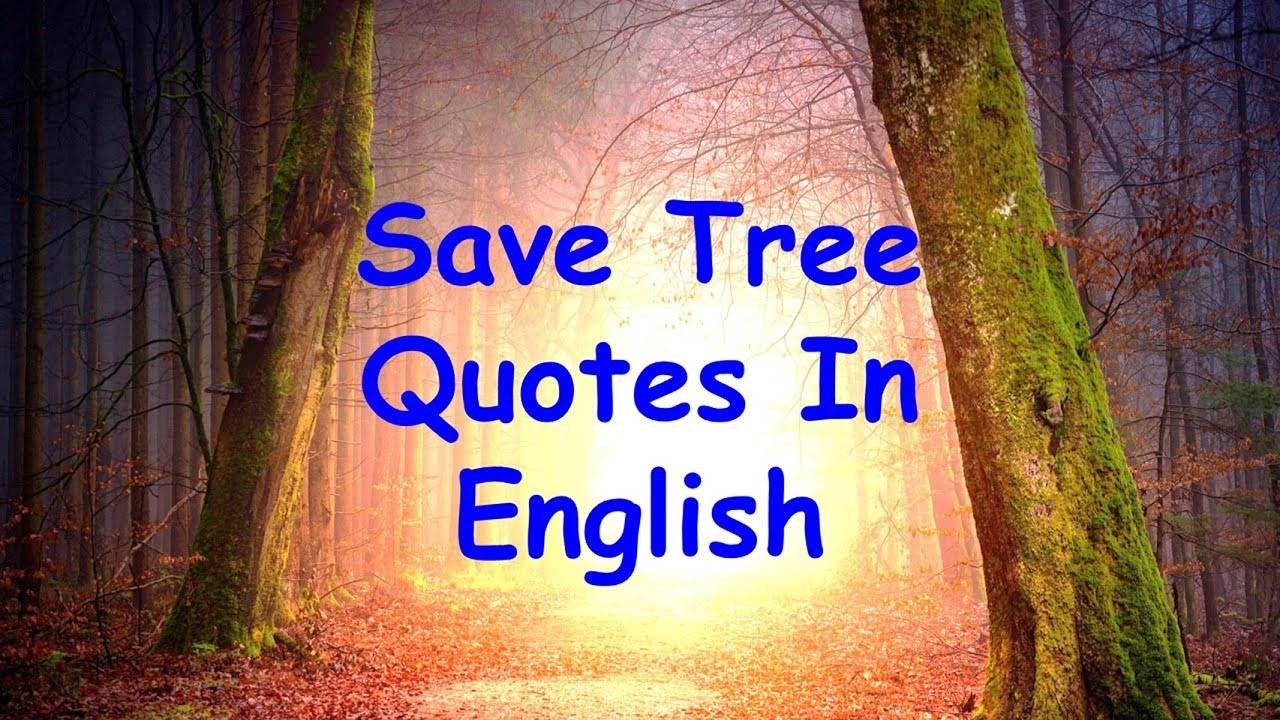 Best Inspirational Quotes About Trees | Quotes On Importance Of Trees | Save Tree Quotes In English