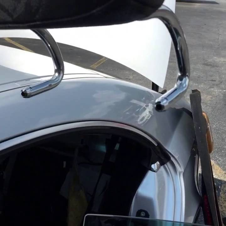 How to remove rear headrest on Mercedes Benz?