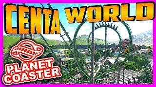 Centa World - Ab in den Dschungel!! | PARKTOUR - Planet Coaster