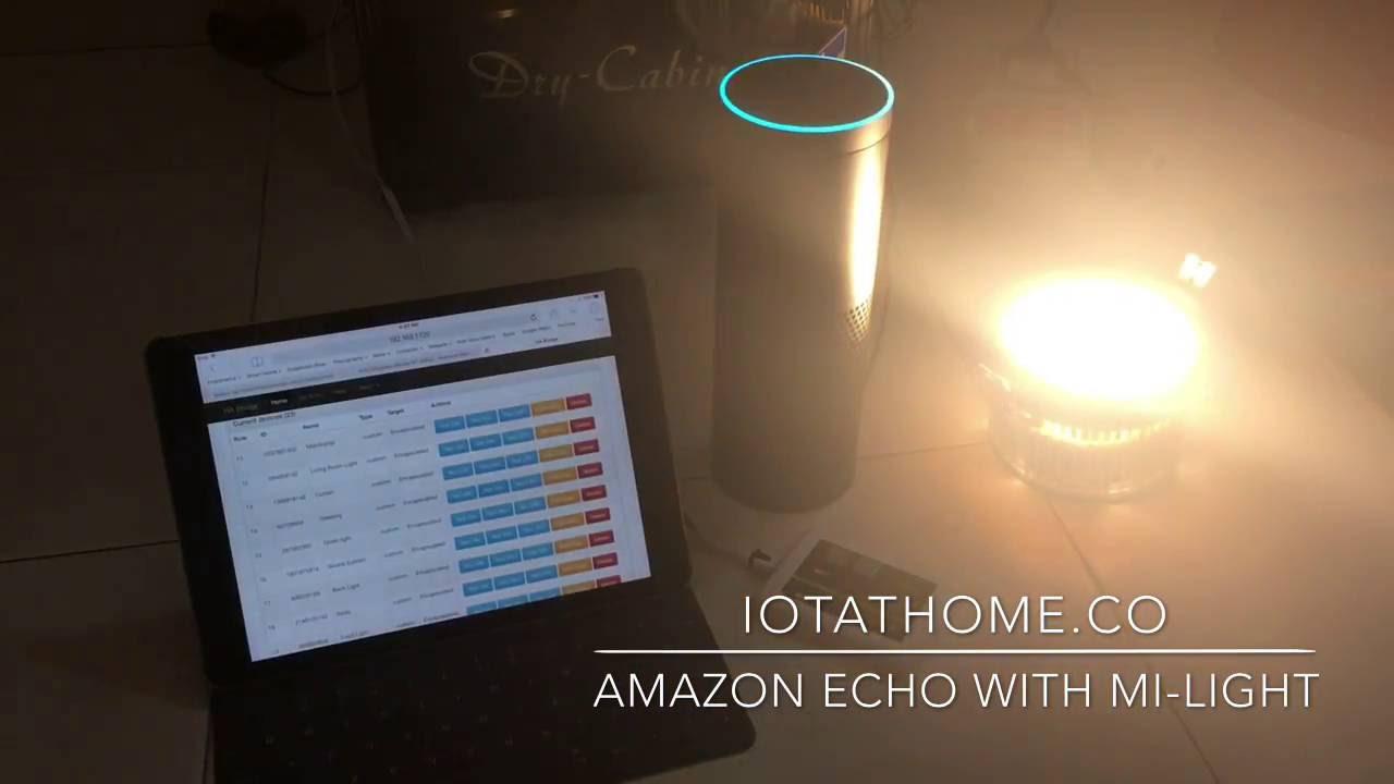 IOTATHOME CO: Amazon Echo Integrate With Mi-Light