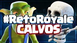 EL AUTÉNTICO MAZO DE PELONES #PelonArmy | #RetoRoyale | Clash Royale