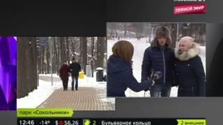 """Москва 24. Открытие катка """"Гигант"""" (декабрь, 2014)"""
