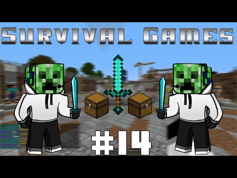 Minecraft - Survival Games - #14 - IsaacMaster, triple team! (Svenska)