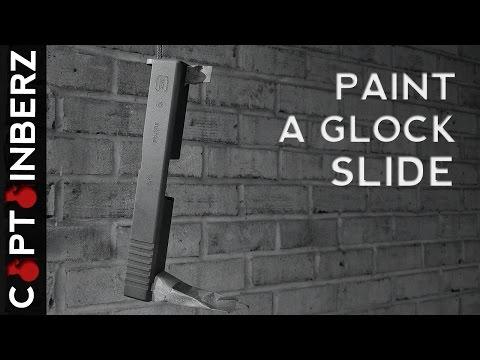 Painting a Glock Slide