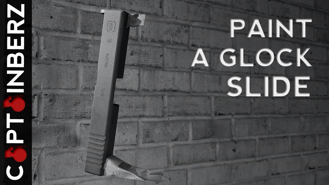 How To Paint A Glock Slide | Gun Costumizations | Gun Carrier
