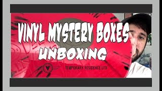 Vinyl Record Mystery Boxes - Unboxing Haul