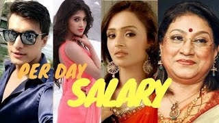 Yeh Rishta Kya Kehlata hai Actors Per Day Salary
