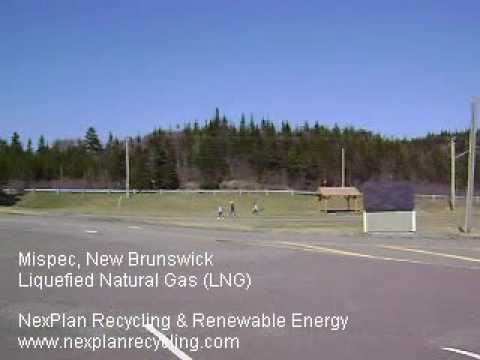 Liquefied Natural Gas (LNG) Terminal at Mispec Point, New Brunswick