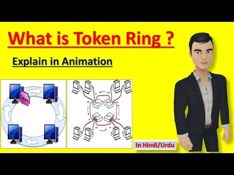 What Is Token Ring ? | Explain In Animation (in Hindi)