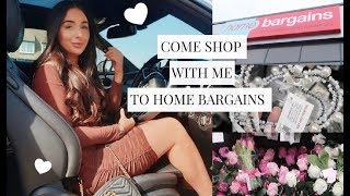 COME SHOP WITH ME TO HOME BARGAINS! NEW IN INTERIOR, SUMMER GARDEN, MARBLE | Hazel Maria Wood
