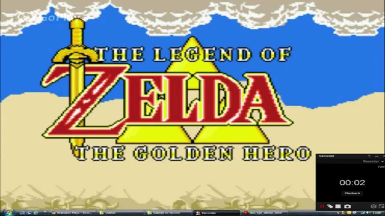 The Legend Of Zelda The Golden Hero