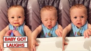 Babies Trying Things For the First Time | Funny and Cute Baby Compilation