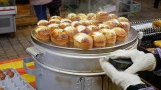 용인 시장 길거리 음식 마성의 계란빵