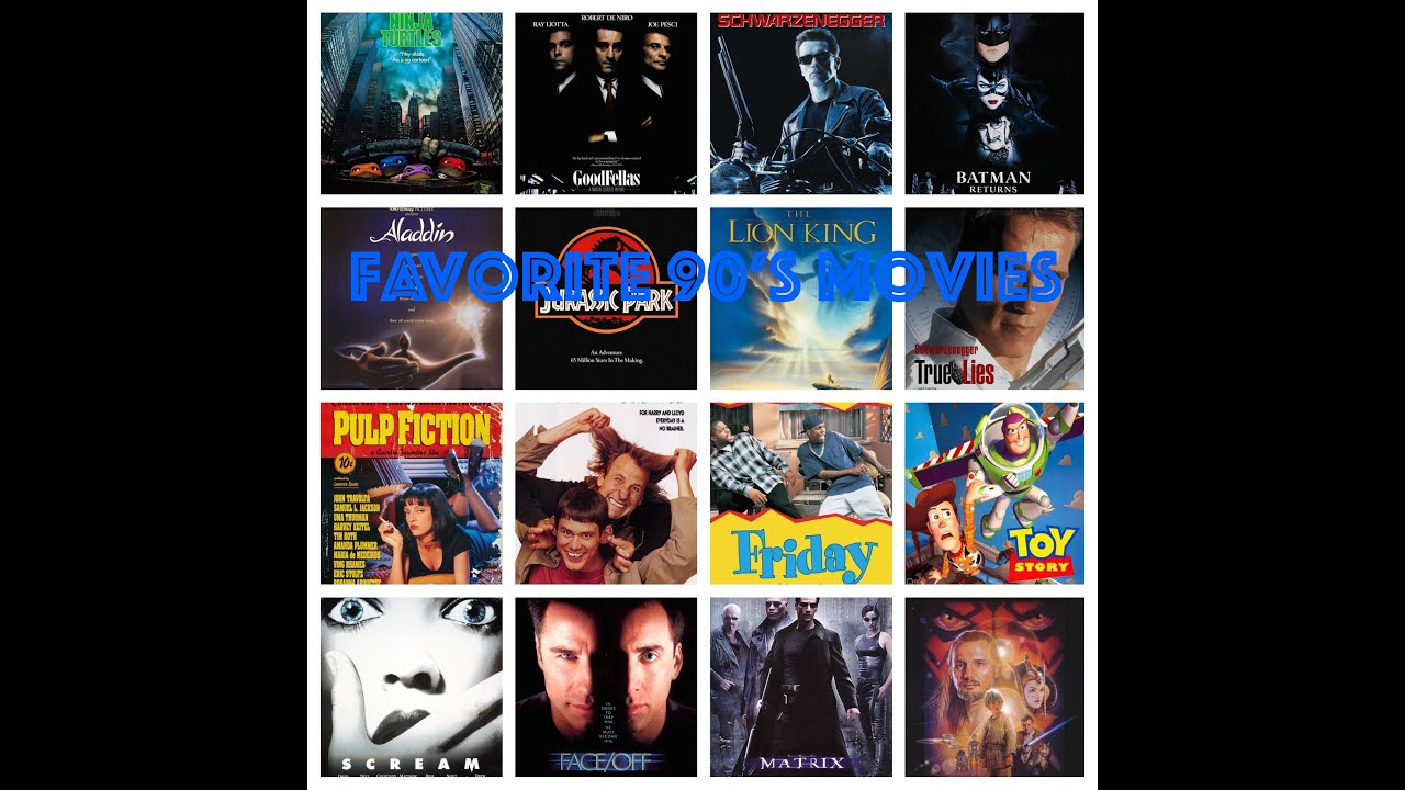 List Movies From The 90S