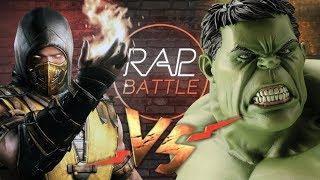 Рэп Баттл - Скорпион vs. Халк (SCORPION VS. HULK)