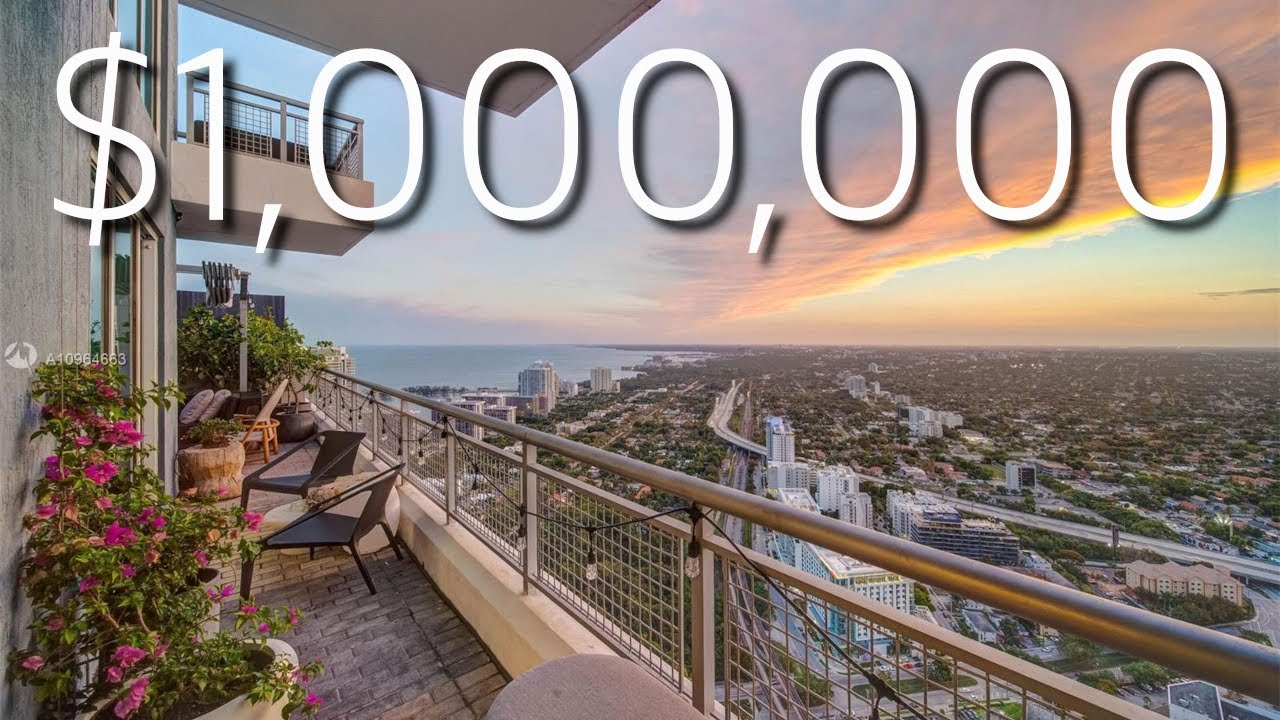 THE $1,000,000 ONE BEDROOM PENTHOUSE IN MIAMI!