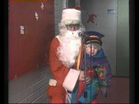 Jouluterveisiä Sodankylästä 1995