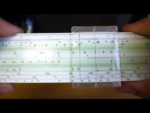 How to Use a Slide Rule: Multiplication/Division, Squaring/Square Roots