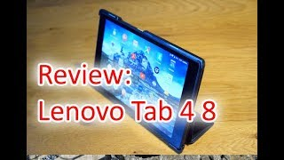 Review: Lenovo Tab 4 8 - günstiges Android-Tablet