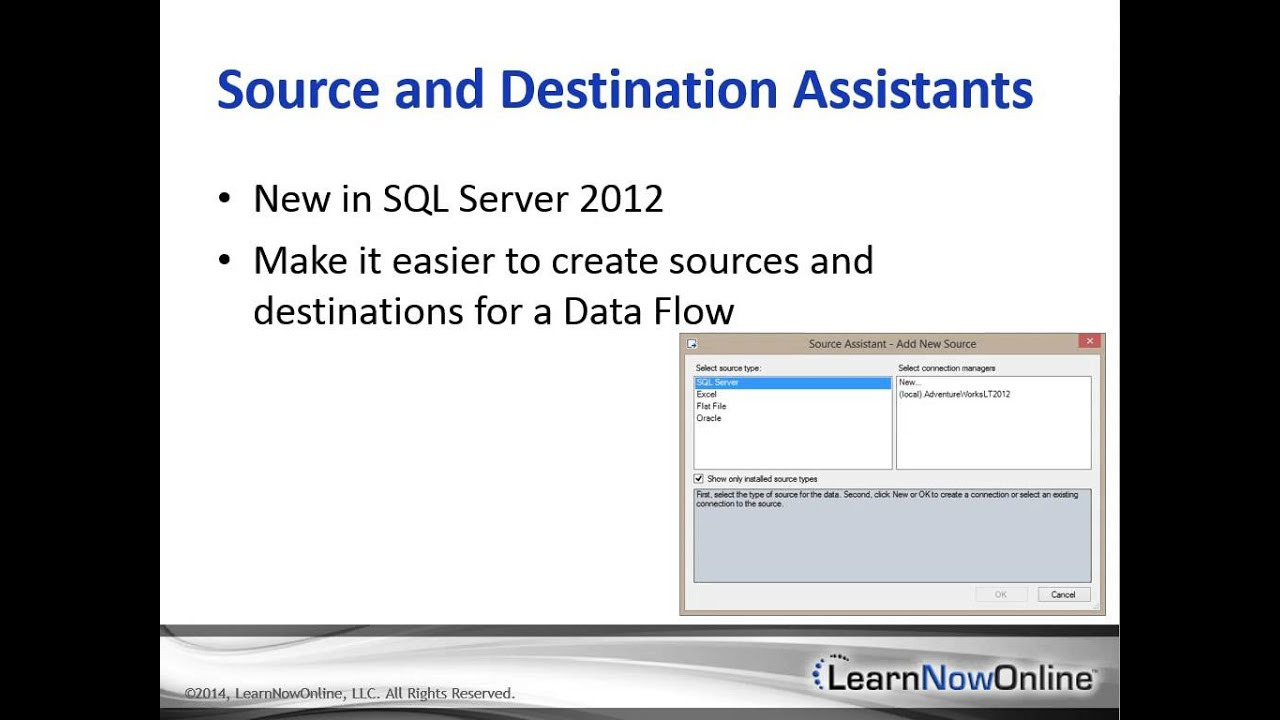 Trailer for SSIS 2012/14: Data Flows and Tasks