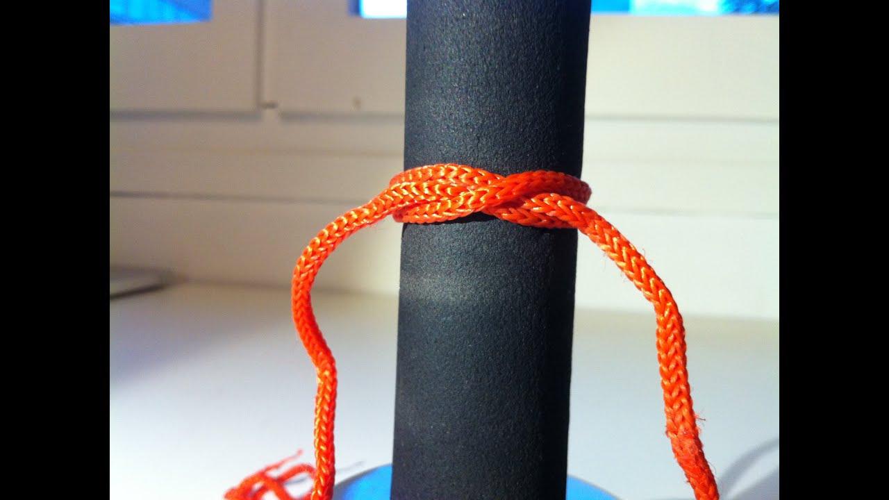 Noeud de cabestan noeud de base viyoutube - Comment faire un noeud de chaise ...