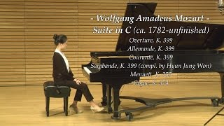 Mozart: Suite in C (arranged by Hyun Jung Won)