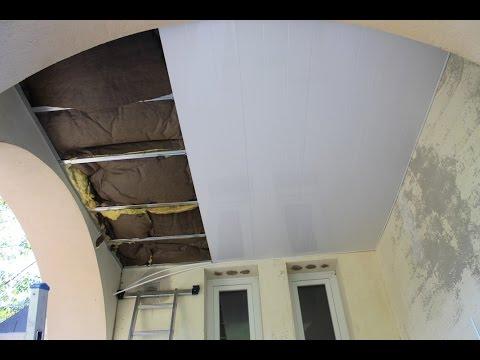 POSER plafond SUSPENDU en PVC RAPIDEMENT et FACILEMENT : Un Ex No Life Bricole