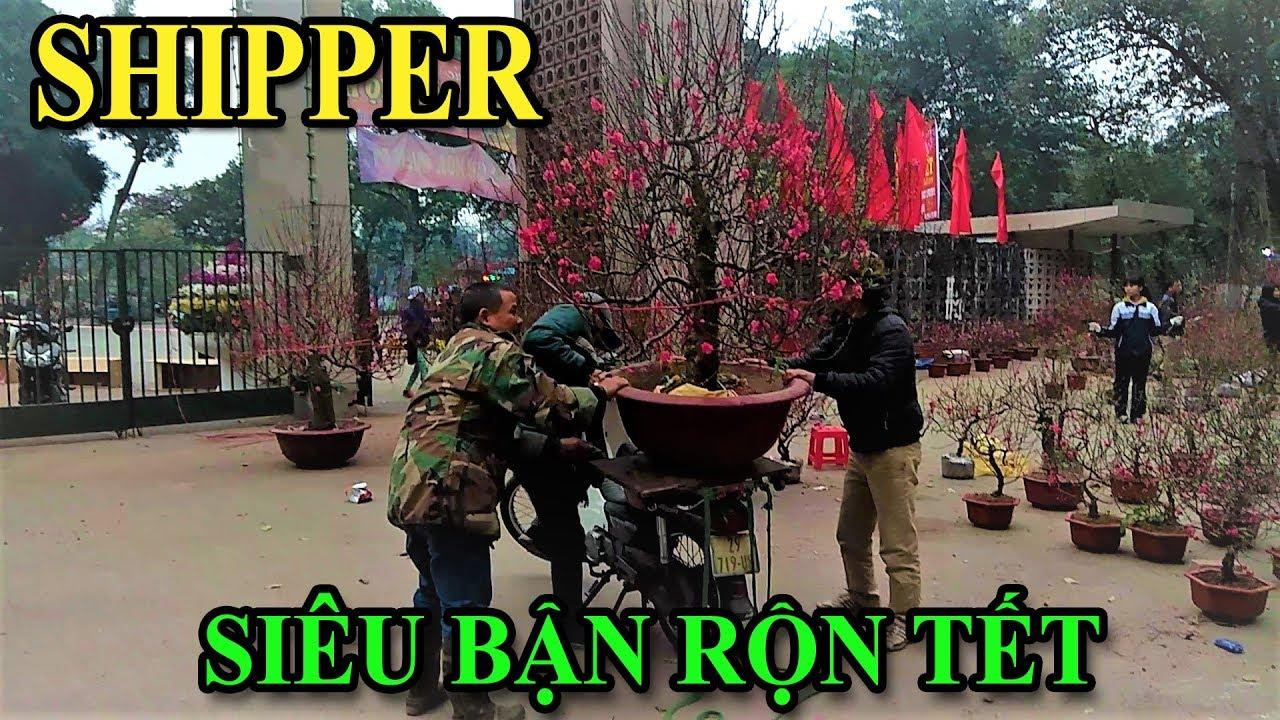 Shipper kiếm bộn tiền chở cây cảnh Tết   Văn Hóng