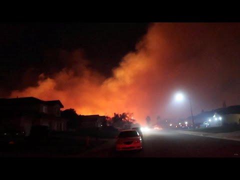 شاهد: أربع عشرة ثانية في جهنم كاليفورنيا  - نشر قبل 2 ساعة