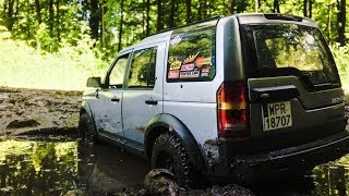 1/10 SCALE LAND ROVER DISCOVERY 3 iN MUD! / RC SCALE OFF ROAD