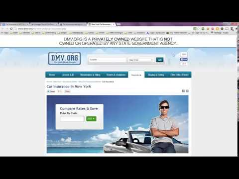 Car Insurance in NYC Average Cost - YouTube