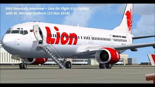 UPDATE on Lion Air Flight 610 Crash (14 Nov 2018)
