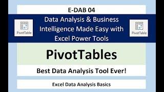 E-DAB-04: PivotTables & Datenschnitte Erstellen von Dashboards & Summary-Reports