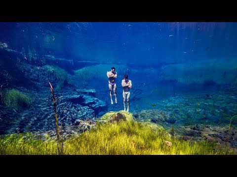 Fresh Water PARADISE: Freediving Mt Gambier