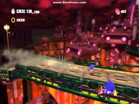 Sonic Generations - Classic Stardust Speedway (Bad Future) Boss: Metal Sonic (Hard Mode)