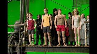 Съемки фильма Гарри Поттер и Дары Смерти: Часть II как снимали фильм #3