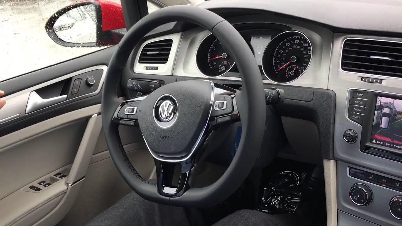 2016 VW Golf SE Drivers Assist Demo