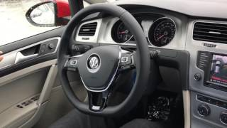 2016 VW Golf SE Drivers Assist Demo
