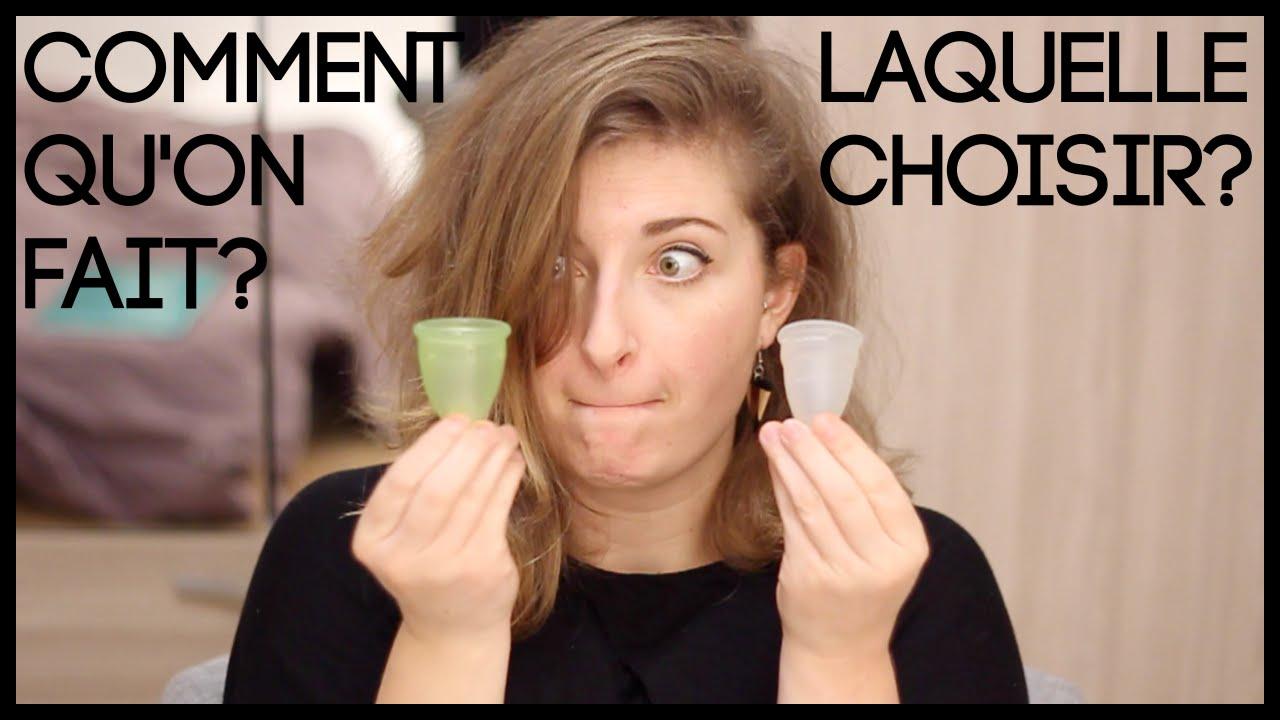 La coupe menstruelle comment a marche laquelle choisir youtube - Comment utiliser la coupe menstruelle ...