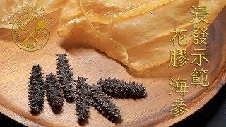 花膠 海參 (浸發示範) 2018 - Rehydrating Dried Fish Maws and Sea Cucumbers