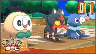 Pokémon Sol [EN VIVO] Capítulo 1 - Iniciamos el viaje a Alola !