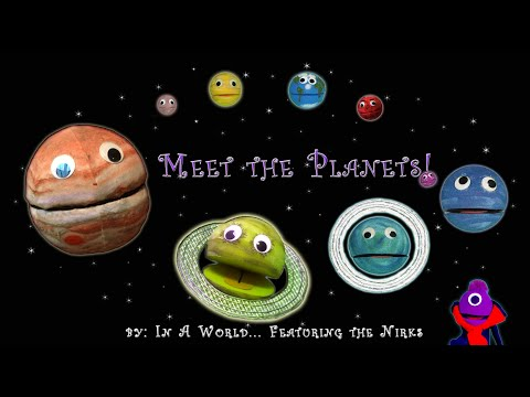 Meet the Planets – A song about Planets  for kids