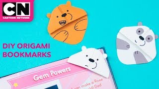 How to Make Easy Origami Bookmarks | Summer Of Creativity | Cartoon Network