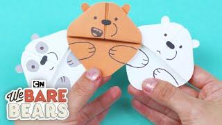 Wie man Leicht Origami Lesezeichen | Sommer Kreativität | Cartoon Network