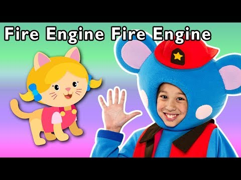 Fire Engine, Fire Engine and More | RESCUE MISSION PRETEND SONG | Baby Songs from Mother Goose Club!