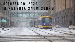 Minnesota Snow Storm | Ocober 20th, 2020