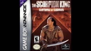 The Scorpion King Sword of osiris (GBA) ost BOSS THEME!!