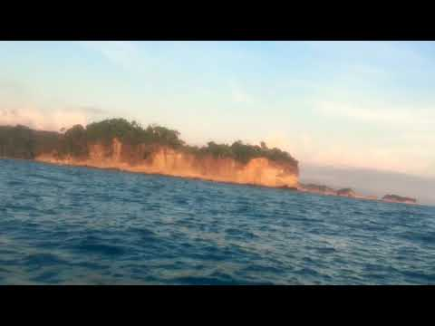 Costa Rica at sunset on a jet ski